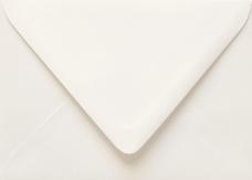 Gmund #49 Wedding White A9 Envelope 5 3/4 x 8 3/4 - 91 lb - 50/Pk