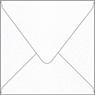 Metallic Snow Square Envelope 5 x 5 - 50/Pk
