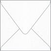 Metallic Snow Square Envelope 6 x 6 - 50/Pk