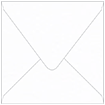 Bright White Dutch Felt Square Envelope 6 x 6 - 50/Pk