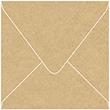 Grocer Kraft Square Envelope 6 1/2 x 6 1/2 - 50/Pk