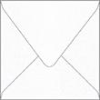 Metallic Snow Square Envelope 6 1/2 x 6 1/2 - 50/Pk