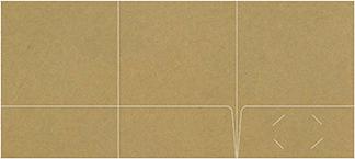 Three-Pocket Folders<br>9 x 12