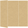 Grocer Kraft Gate Fold Invitation Style A (5 x 7)