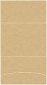 Grocer Kraft Pocket Invitation Style A3 (5 1/8 x 7 1/8)