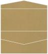 Natural Kraft Pocket Invitation Style A4 (4 x 9) 10/Pk