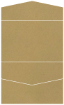 Natural Kraft Pocket Invitation Style A5 (5 3/4 x 8 3/4) 10/Pk