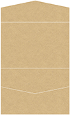 Grocer Kraft Pocket Invitation Style A5 (5 3/4 x 8 3/4)