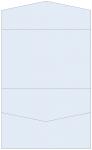 Blue Feather Pocket Invitation Style A5 (5 3/4 x 8 3/4) 10/Pk
