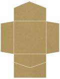 Natural Kraft Pocket Invitation Style B2 (6 1/4 x 6 1/4) 10/Pk