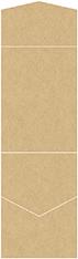 Grocer Kraft Pocket Invitation Style C2 (4 1/2 x 6 1/4)