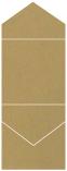 Natural Kraft Pocket Invitation Style C3 (5 3/4 x 5 3/4)10/Pk