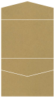 Natural Kraft Pocket Invitation Style C4 (5 1/4 x 7 1/4)10/Pk