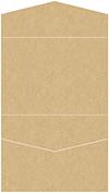 Grocer Kraft Pocket Invitation Style C4 (5 1/4 x 7 1/4)
