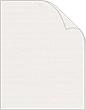 Natural White Classic Linen Cover - 100 lb - 8 1/2 x 11 - 25/Pk