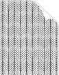 Oblique Black Text 8 1/2 x 11 - 25/Pk