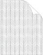 Oblique Grey Text 8 1/2 x 11 - 25/Pk