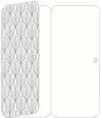 Glamour Grey Panel Invitation 3 3/4 x 8 1/2 (folded) - 10/Pk