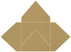 Natural Kraft Pochette Style A2 (7 1/8 x 7 1/8) 10/Pk