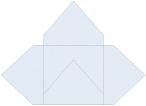 Blue Feather Pochette Style A2 (7 1/8 x 7 1/8) 10/Pk