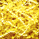 Yellow Crinkle Paper 1 lb