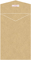 Grocer Kraft Thick-E-Lope Style A6 (6 x 9) - 10/Pk