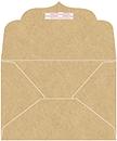 Grocer Kraft Thick-E-Lope Style B3 (7 1/2 x 5 1/2 ) 10/Pk