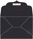 Linen Black Thick-E-Lope Style B3 (7 1/2 x 5 1/2 ) 10/Pk